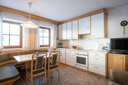 """Cosy Apartment """"Edelweiß"""" in Beautiful Scenery with Mountain View, Wi-Fi, Balcony & Garden; Parking Available"""