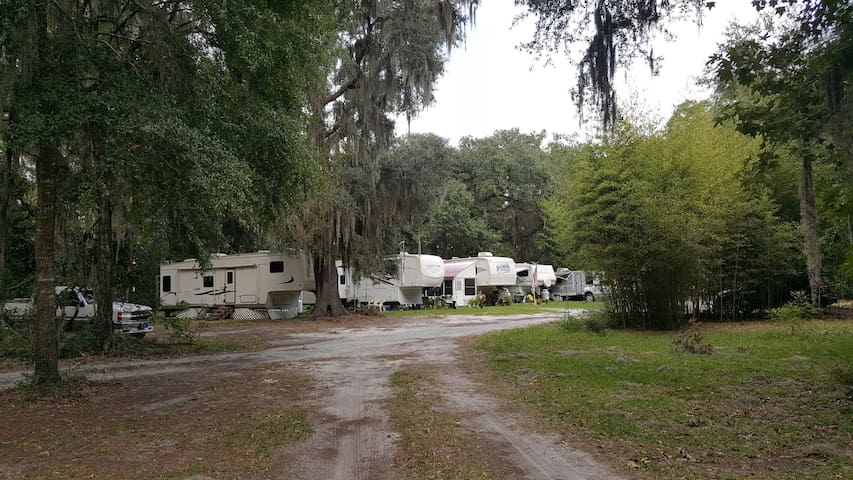 RV and tent campground