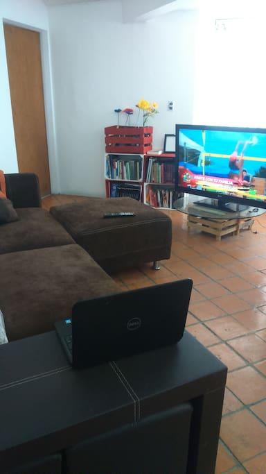 área de TV