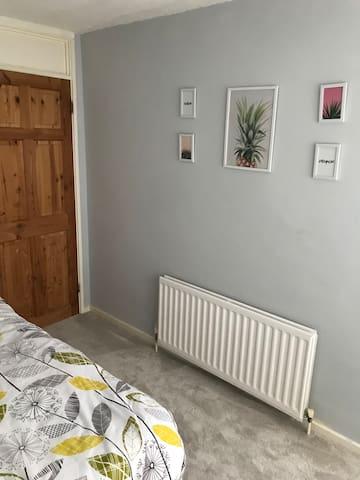 Refurbished double roomi