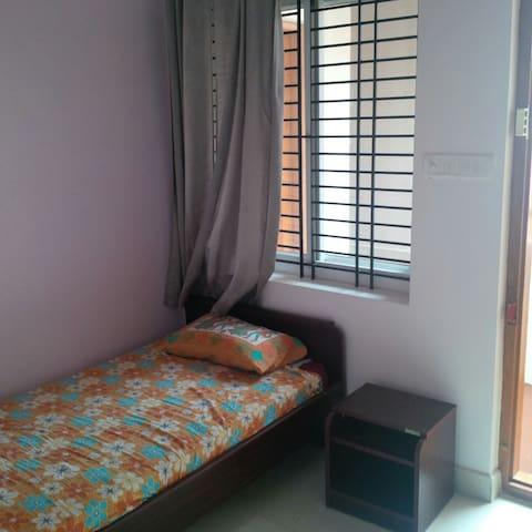 Melrose Place Gokulam cozy studio apartment.