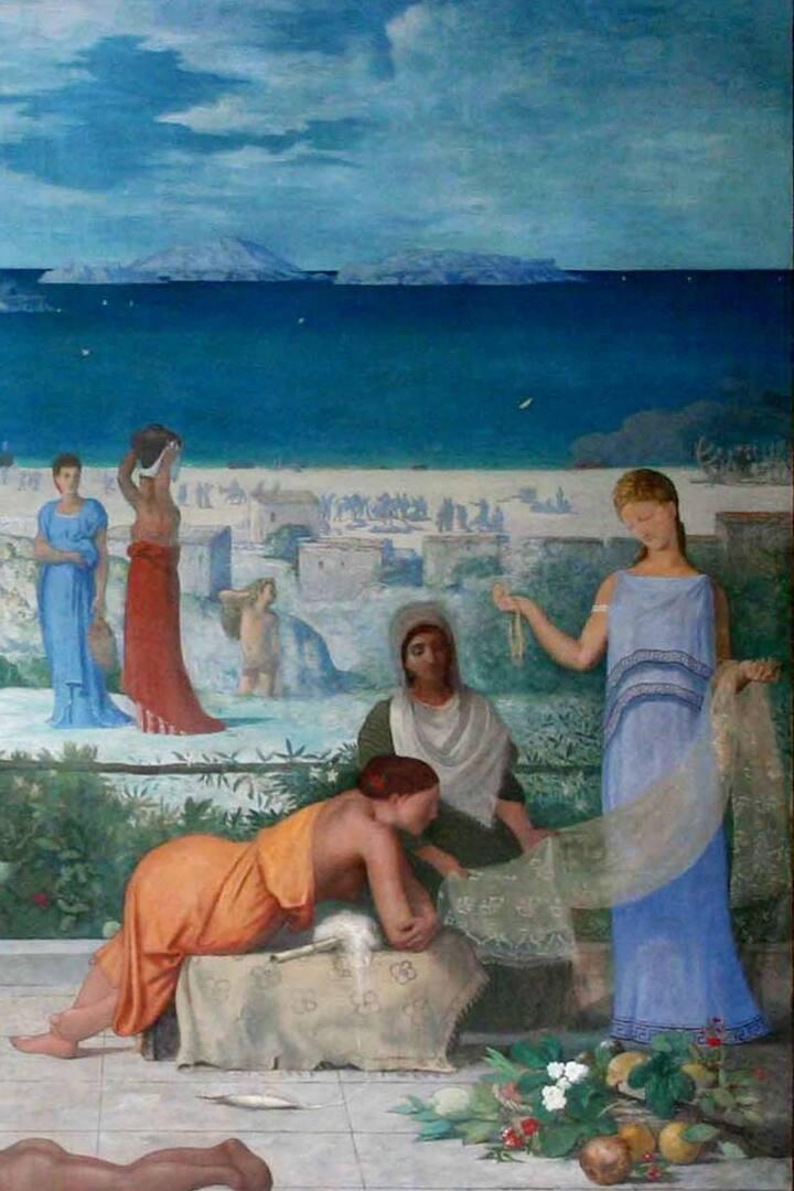 Marseille,Colonie Grec. Chavannes P.