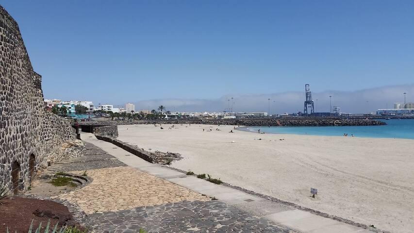 2C Piso Económico con vistas al mar, Fuerteventura