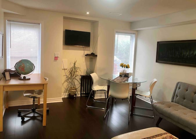 Exclusively walkout Basement Home +free parking.
