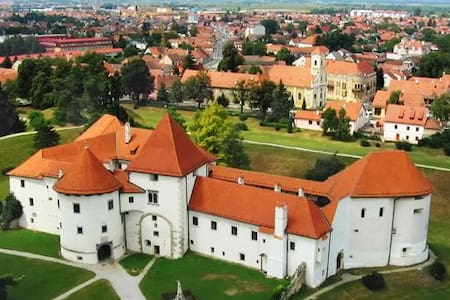 Spacious apartment in Varazdin