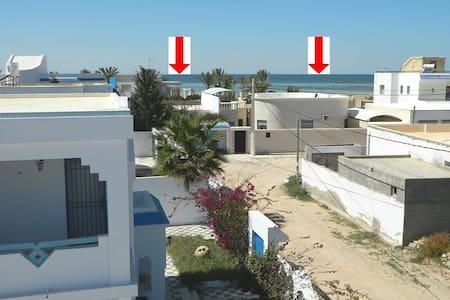 maison vue jardin + mer