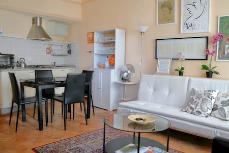 Old yard apartment with parking - Lucca