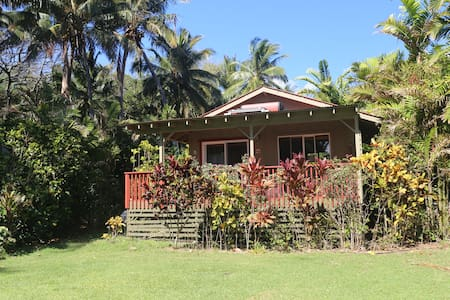 Private Beachfront Cottage - Kaunakakai - Cabaña