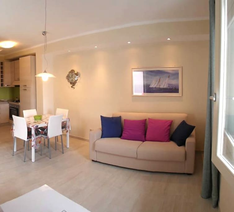 Zona Giorno Living Area
