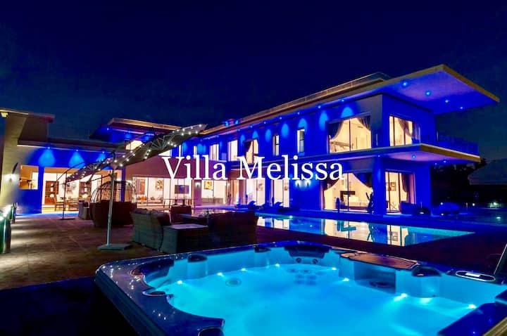 Villa mellissa luxury modern villa
