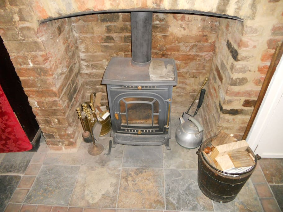 The Burner to keep you warm and cosy during your stay.