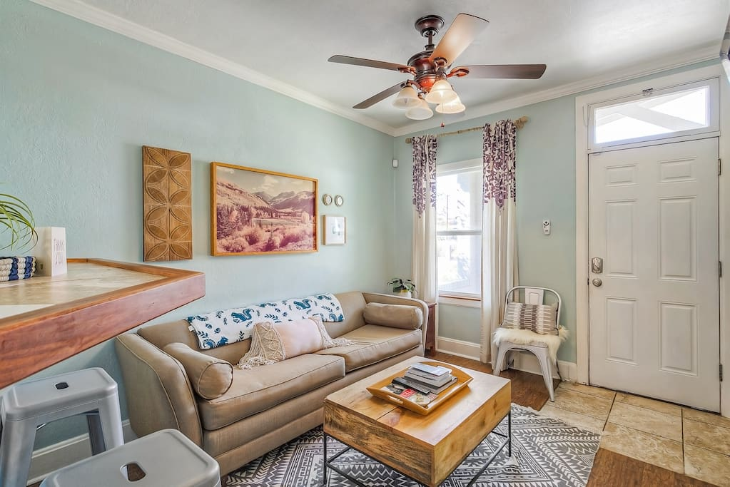 Welcome to your new home!  Live in Boho style in close proximity to it all!