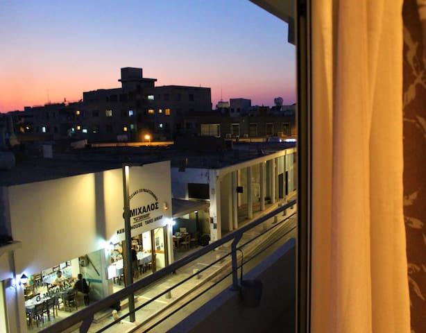 Paphos Town Centre Spacious Balcony Room