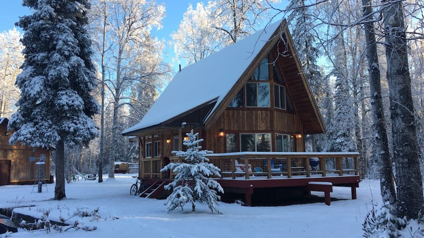 Charming Alaska A-Frame