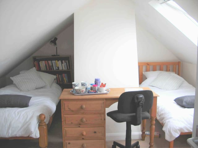 Attic room with ensuite