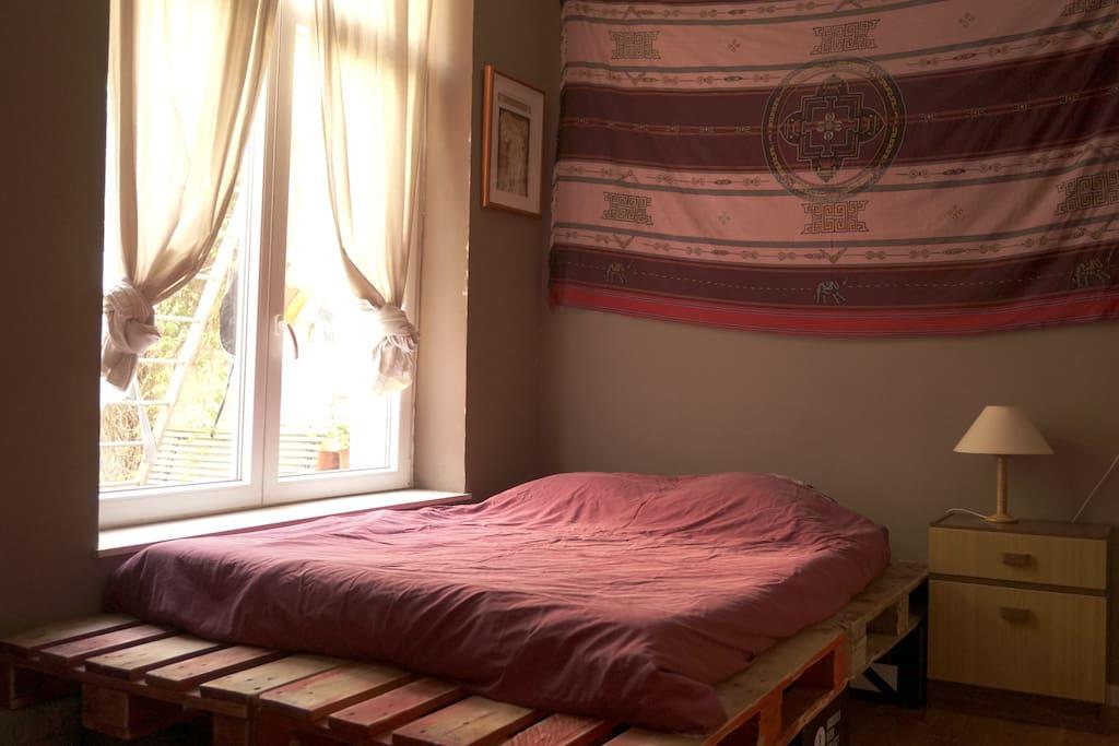 Une chambre au calme...