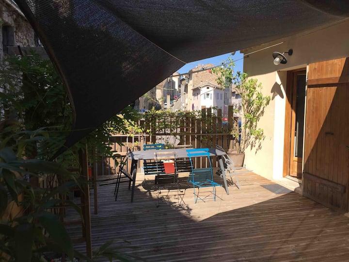 Maison de village à Joyeuse - Ardèche | 4/6 Pers.