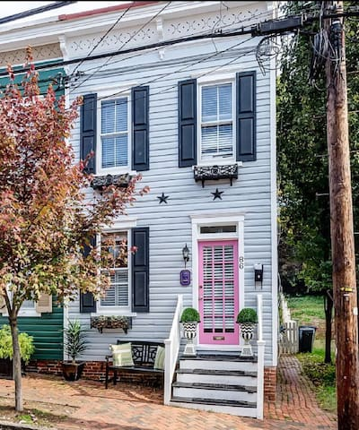 Charming Renovated Historic Home Downtown wparking