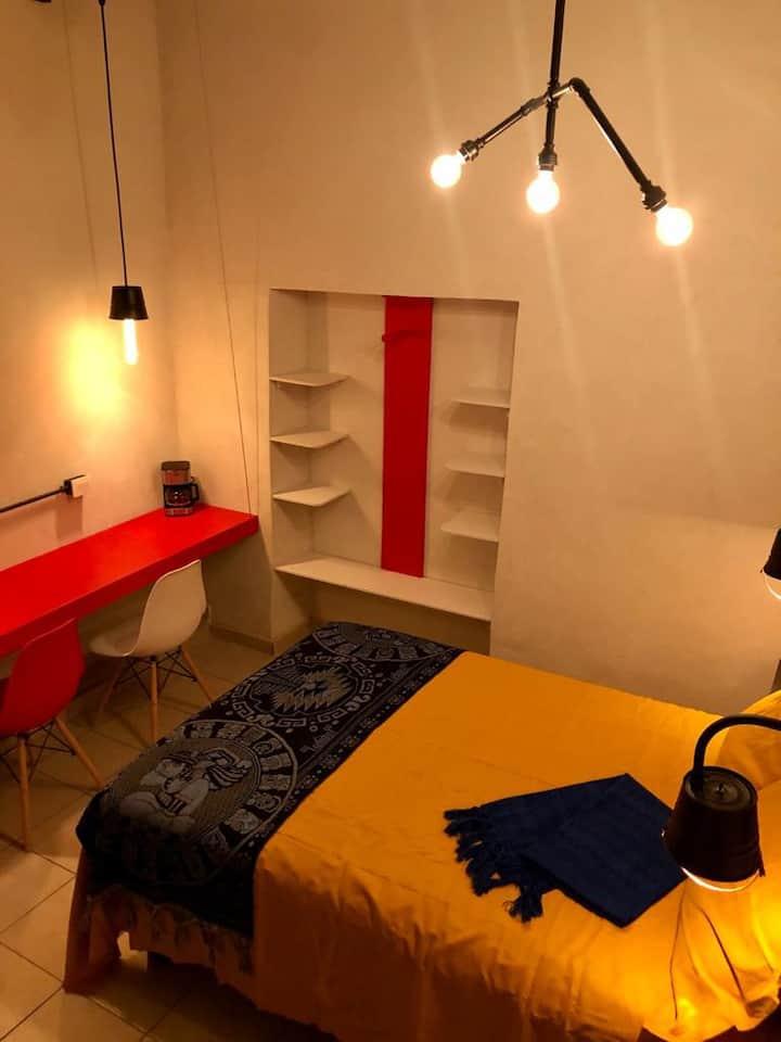 Sofisticada habitación en el corazón de Gto