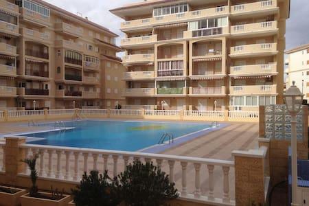 Bel appartement pool, 150m sea - La Mata