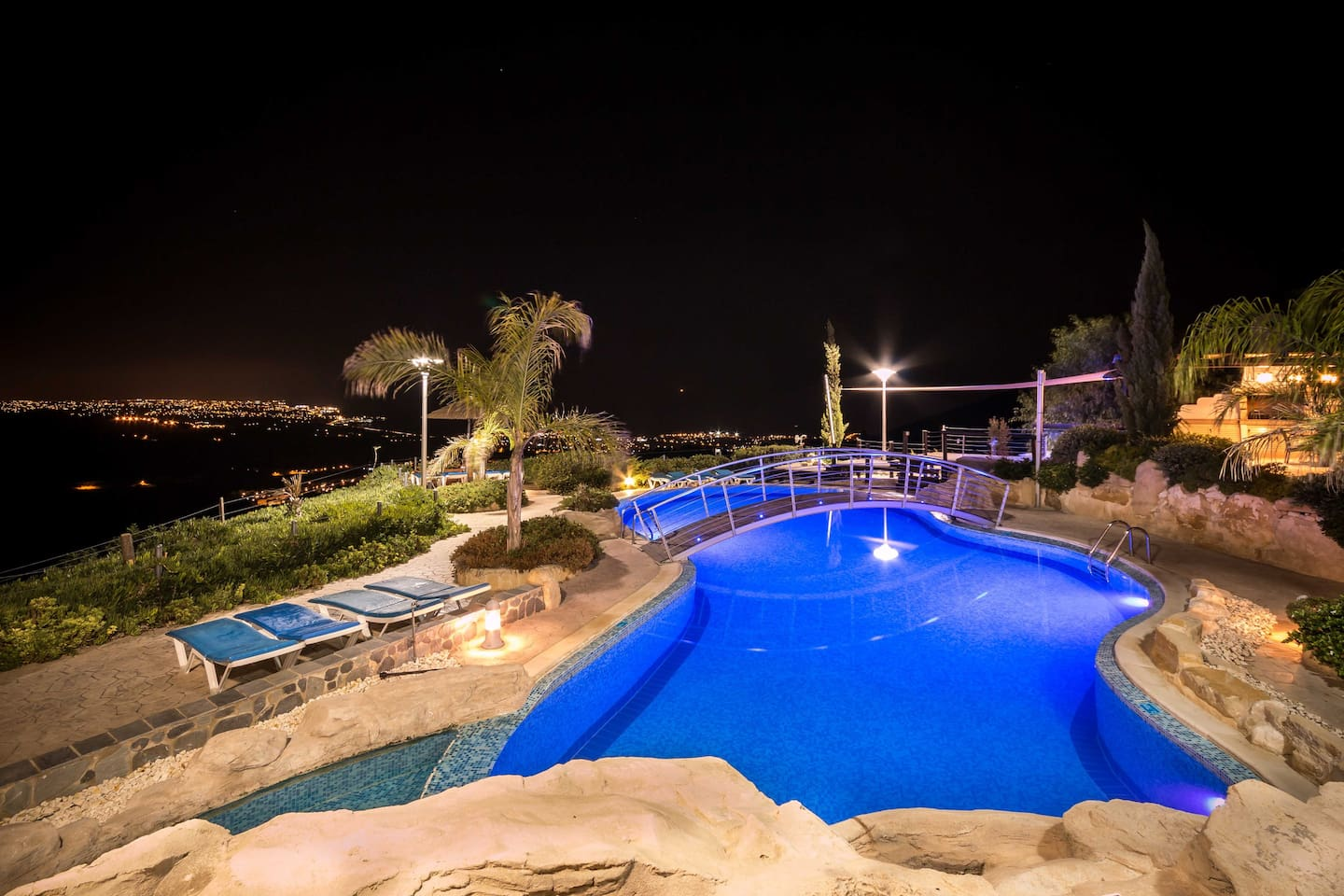 Large private villa with the best a panoramic coastal view.