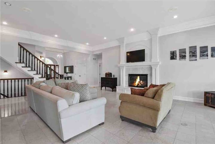 Executive Home with indoor Basketball court