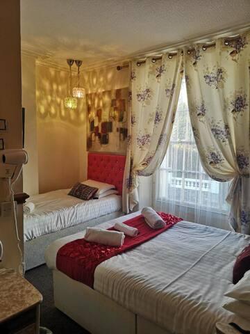 Llandudno Hotel standard family room