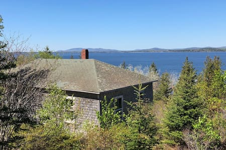 Oceanfront Cottage Near Acadia- Off-the-Grid