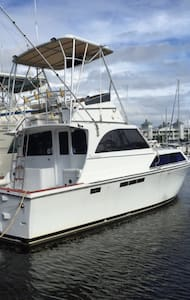 """Never Better"" fishing yacht - Port Canaveral"