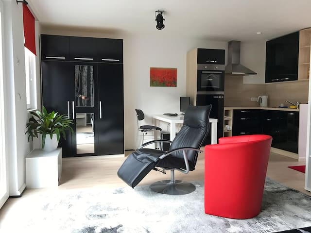 Modernes All-In-One-Studio an Hamburgs Stadtrand - Henstedt-Ulzburg - Apartemen