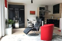 Modernes All-In-One-Studio an Hamburgs Stadtrand