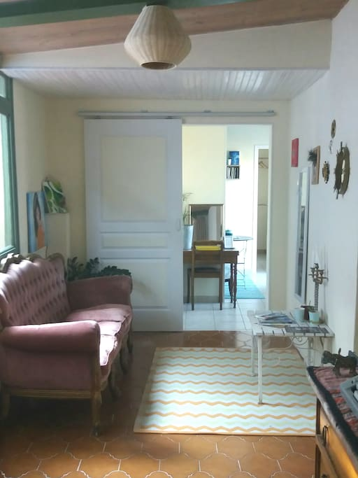 Couloir d'accès à votre chambre