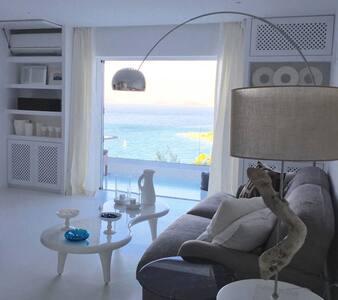 Hillside Modern Seaview Villa!