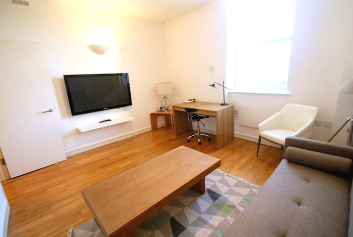 CENTRAL ENTIRE FLAT NEAR KING'S CROSS & EUROSTAR