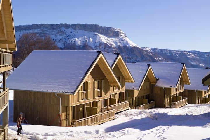 Appartement confortable et au calme, près des pistes ski de fond