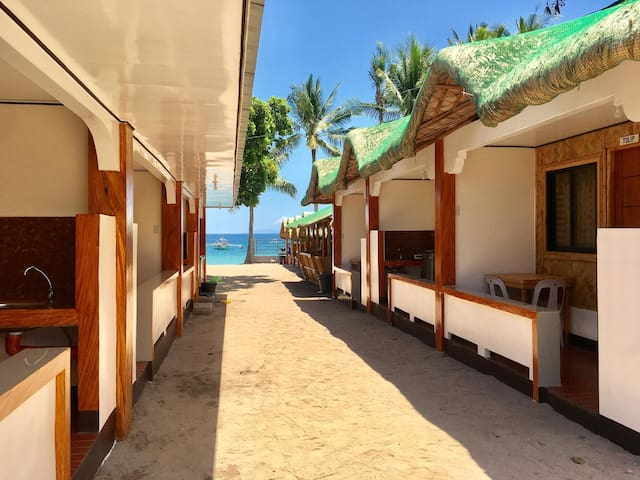 Room GUMAMELA: LAIYA WHITE BEACH: for 12Persons