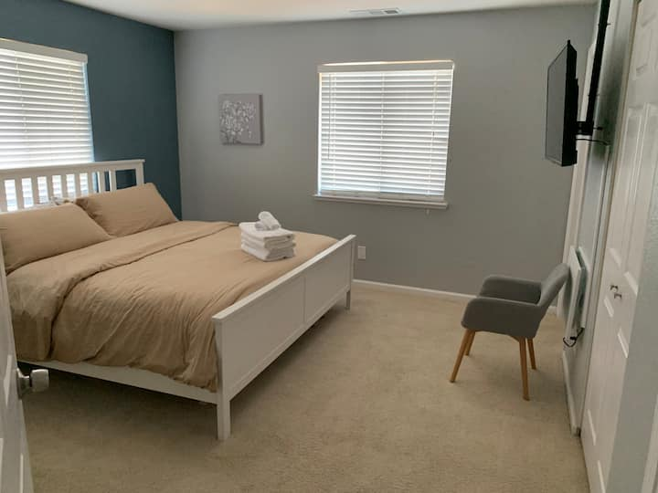 Private Master Bedroom with private bathroom