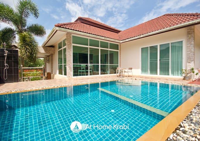 Alinda Ao Nang Pool Villa / FREE TUKTUK TO AO NANG