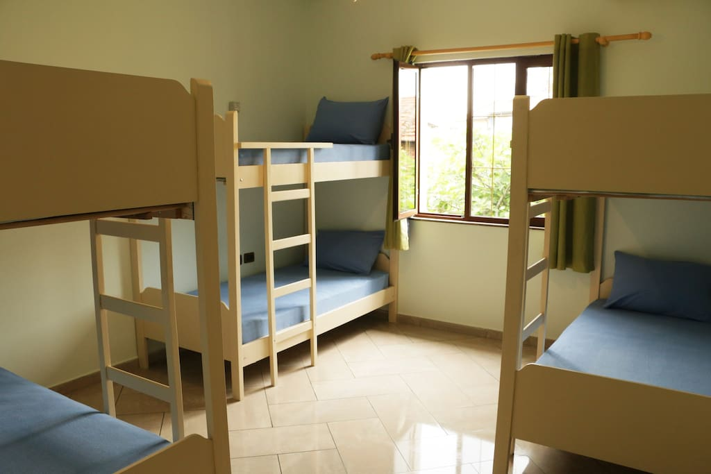 6 beds room - just a private room for you and your friends!