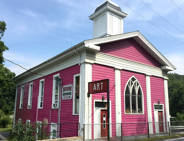 Mary's Pink Church, near State College, PA