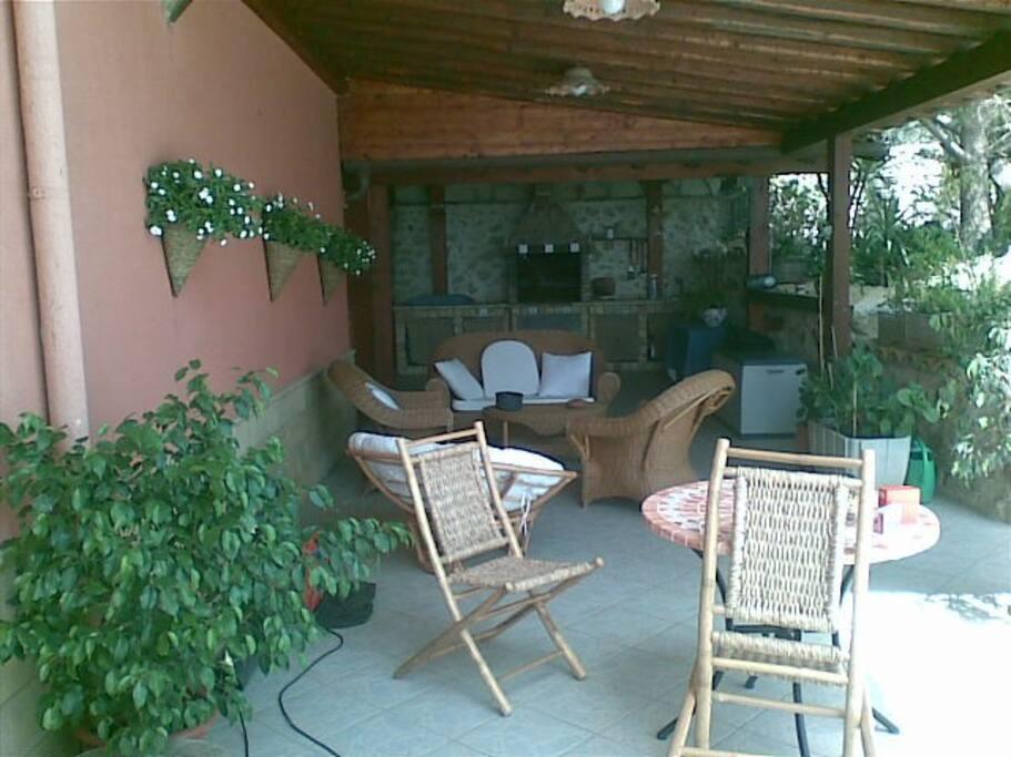 Zona relax esterno