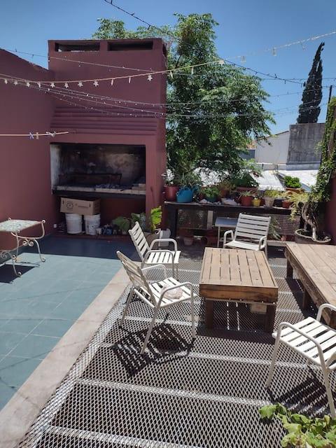 Departamento con una hermosa terraza en Pehuajó