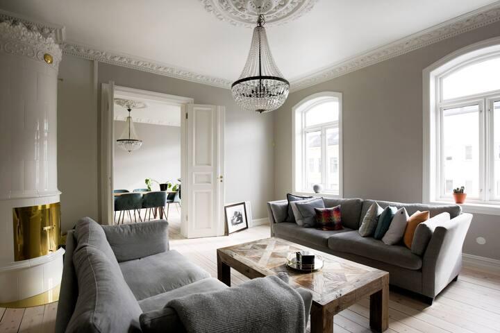 Big apartment in beautiful Frogner