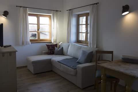 "Hirschens Land-Café/holiday apartment ""Zwerchstadl"""