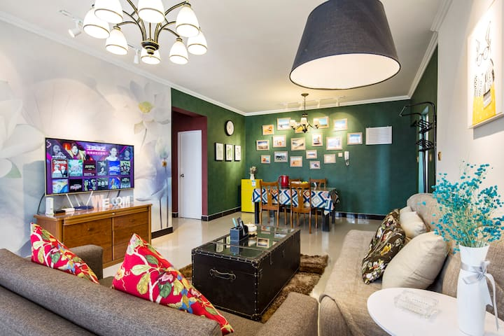 会展中心品质公寓,采光好,地址位置优越,设施齐全