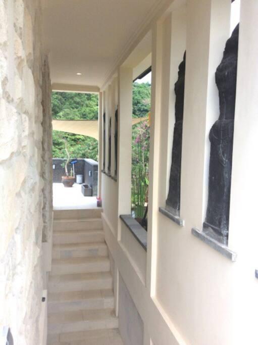 Sing Sing Homevilla Entrance