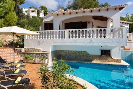 Luxury villa with sea views & private pool - Son Bou - Vila