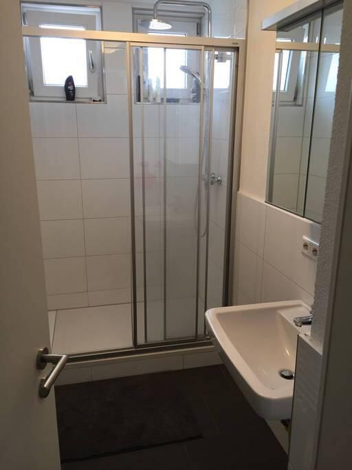 Typisches Badeszimmer