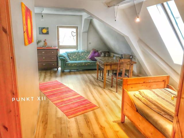 WHG 3: Sonnige gemütliche Wohnung im Seminarhaus