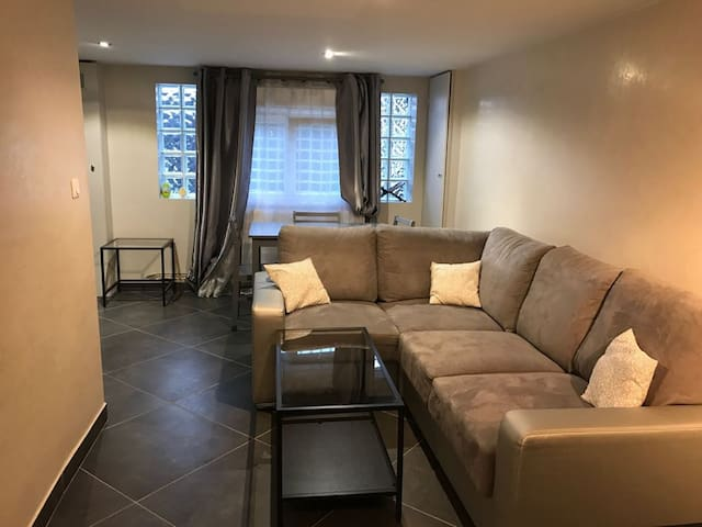 Nice home with garden close to CDG/ Parc des expo - オルネースーボア - 一軒家